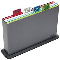 Joseph Joseph Index Chopping Board Set - Graphite, Set of 4