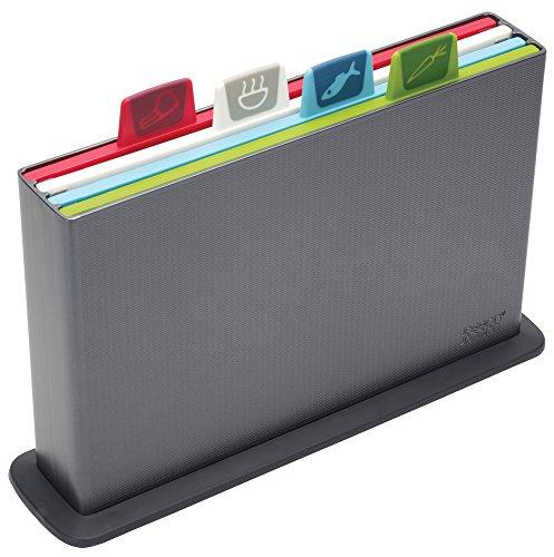 Joseph Joseph Index - Tablas de cortar, color gris