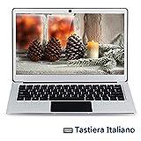 jumper Ezbook 3 Pro Tastiera Italiana, Laptop 13,3 pollici, Intel N3450 Quad Core Windows 10, 6GB RAM 64GB ROM, Display IPS FHD, 2MP Camera, Dual Wifi e BT 4.0, Batteria 36.48Wh[layout italiano]