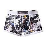 MOIKA Herren Boxershorts Männer Print Unterwäsche Knickers Boxershorts Shorts Bulge Pouch Unterhose