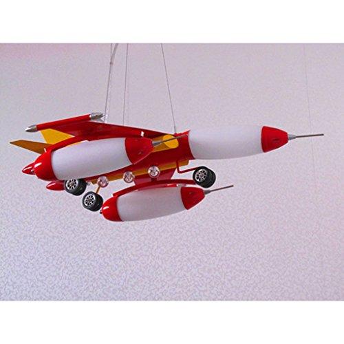 Die Erntesaison Rote Kind-Flugzeug-Lichter-Jungen-Schlafzimmer-Lichter -E14 Lampe * 5