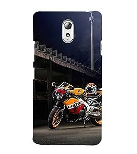 HiFi Designer Phone Back Case Cover Lenovo Vibe P1M :: Vibe P1m ( Super Bike Bikes )