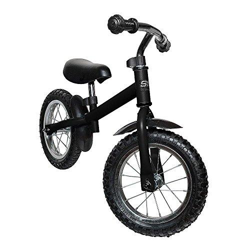 Safetots - Bicicleta de equilibrio, color negro