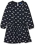 TOM TAILOR Kids Mädchen Kleid Swan Patterned Dress, Blau (Dark Blue 6012), 128/134