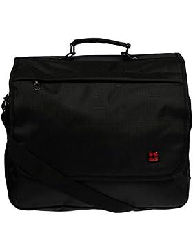 Christian Wippermann hochwertige Messenger Bag Tasche für Schule UNI Arbeit