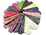 Damen Premium Qualität Original Superweich Leder Handschuhe Kunstpelz Futter Winter Alltag Warm