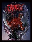 Marvel Extreme 30x 40cm Affiche encadrée Carnage''