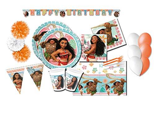 Decorata Party Mesa coordinada temática Oceania Vaiana