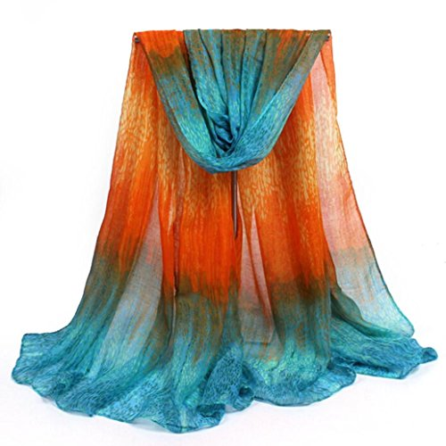 kolyr-womens-lady-meteor-shower-pattern-shawl-wrap-wraps-scarf-scarves-orange