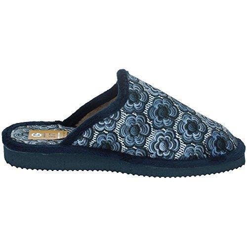 GEMA GARCIA, Pantofole donna Blu navy