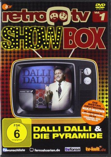 "retro-tv Show Box (""Wetten, dass...?"", ""Dalli Dalli"", ""Die Pyramide"", ""Na sowas"") (2 DVDs)"