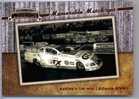 2010 Press Pass Legends Racing Card # 56 John Force