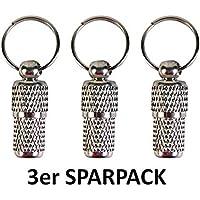 hundemarken kette silber (3 STÜCK) Adressanhänger aus Metall / Schöner kleiner Halsbandanhänger für Katzen und Hunde