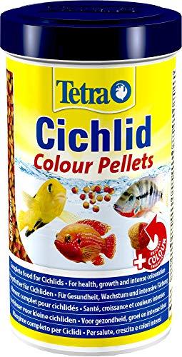 Lascure Delights Delights Mangime Cichlid Colour ml. 500-Alimenti Pesci, Multicolore, Unica