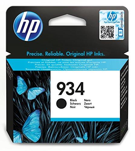 HP 934 Schwarz Original Druckerpatrone für HP Officejet Pro