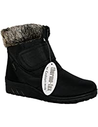 Cushion Walk Thermo-Tex Womens Comfort Fit Winter Boots - CW81 Brown