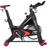 CARE FITNESS - Racer XPR Electronique - Spin Bike Haut de Gamme - Vélo d'Appartement Spinning - Vélo Spinning Electronique - Masse...