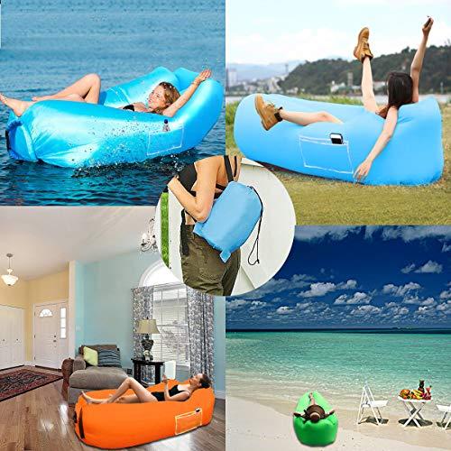 Zoom IMG-1 suptempo divano gonfiabile spiaggia portatile