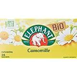 Elephant Infusion Camomille Bio 25 Sachets 30g