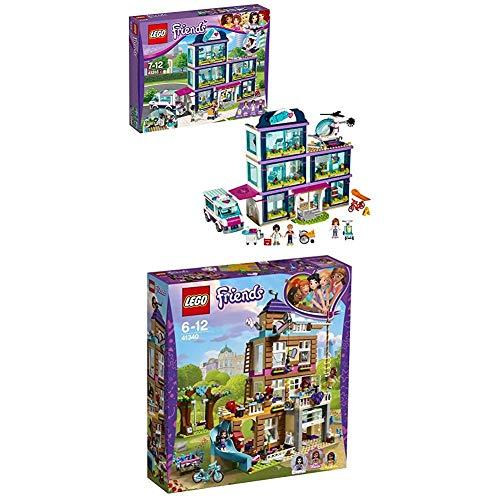 Lego Friends 41318 - Heartlake Krankenhaus + Freundschaftshaus, Beliebtes Kinderspielzeug Preisvergleich