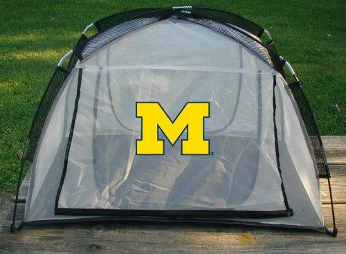 Rivalität NCAA Michigan Wolverines Essen Zelt