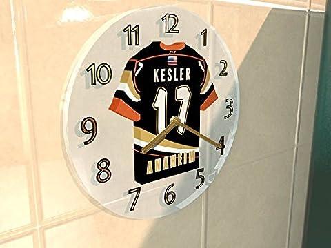 NHL Ligue nationale de hockey–Western Conférence–Division Pacifique Jersey Horloge murale–N'importe Quel Nom, n'importe quel Nombre, n'importe quelle équipe–Sans personnalisation. ANAHEIM DUCKS