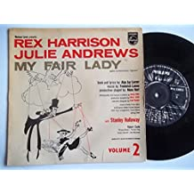 "REX HARRISON / JULIE ANDREWS My Fair Lady Volume 2 7"" vinyl"