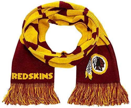 Forever Collectibles Schal NFL, Washington Redskins Fanschal,  Mehrfarbig (Washington Redskins),  SVNF14WMWRAM