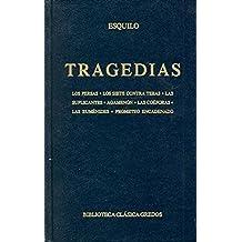 Tragedias (esquilo) (B. BÁSICA GREDOS)