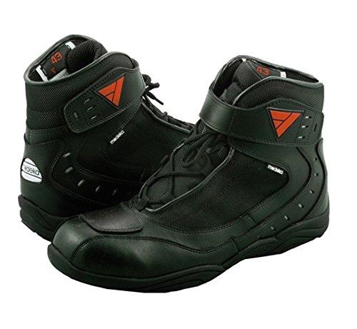 Modeka LE MANS Motorradstiefel Leder - schwarz Größe 43