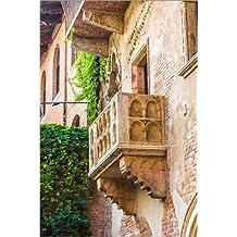 Cuadro sobre lienzo 60 x 90 cm: Romeo and Juliet balcony, Verona de Colourbox - cuadro terminado, cuadro sobre bastidor, lámina terminada sobre lienzo auténtico, impresión en lienzo
