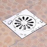 Deodorant Copper Bodenablauf Große Verschiebung Badezimmer, Balkon Anti-Clogging Filter