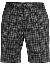 Slazenger Herren Kariert Golf Shorts Sommer Kurze Hose Gürtelschlaufen