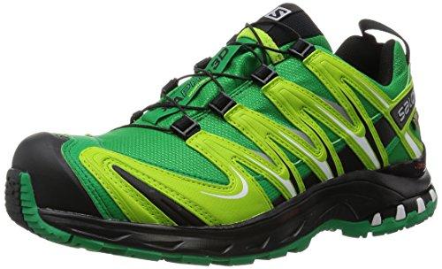 Salomon Zapatos XA Pro Ultra 2 GTX 329823 carretera de asfalto en 3D de color Verde/Negro, Salomon Schuhe Herren:44 2/3