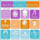 ArtNaturals Anti-Aging Hyaluronsäure-Serum - (30 ml) - Gesichts-Feuchtigkeitsspender gegen Falten