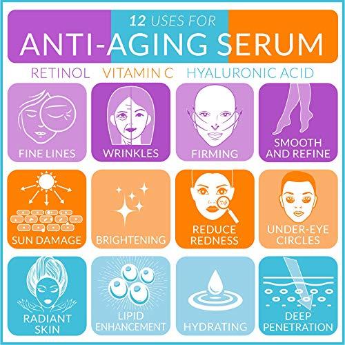 ArtNaturals Retinol Serum mit Vitamin C und Hyaluronsäure – Naturrein – 30 ml - 4