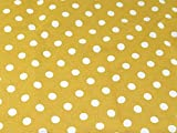 Spotty Polka Dot Print Baumwolle Canvas Stoff