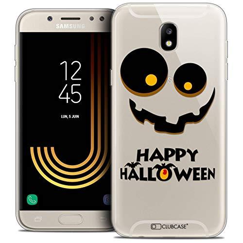 Caseink Hüllle für Samsung Galaxy J5 2017 J530 (5.2 Handyhülle Back case [Crystal Gel HD Sammlung Halloween Design Happy - Flexibel - Ultra Fin - Auf Wunsch frisch in Frankreich gedruckt]