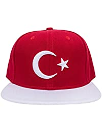 Türkei Türkiye Snapback Cappy Caps Mütze Aufschrift Beanies Basecap Turkey