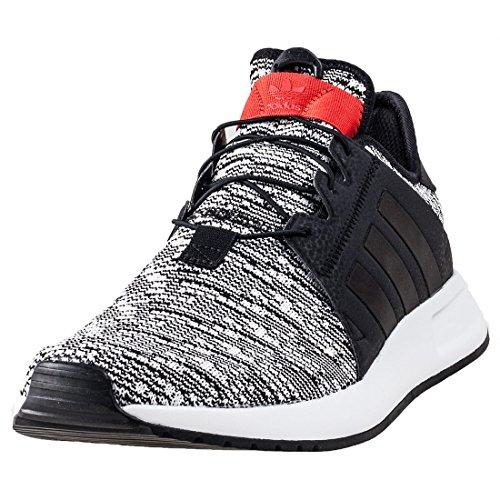adidas X_PLR, Chaussures de Fitness Homme multicolore - noir/rouge (Negbas / Negbas / Rojo)