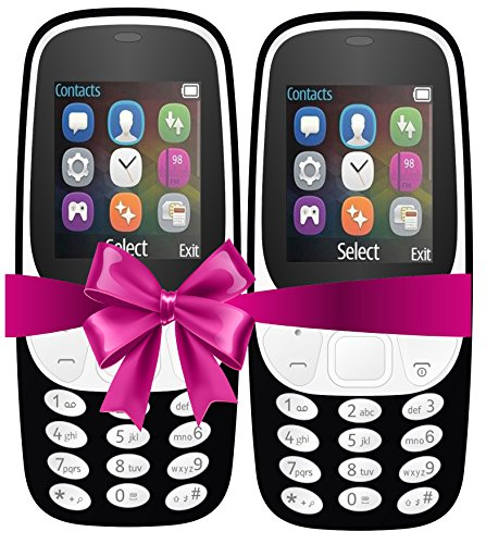I KALL 4.57 Cm (1.8 Inch) Mobile Phone Combo - K3310 (Black& Black) With Feature Of Currency Detector