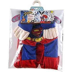 Rubie 's–Disfraz de Superman mascota, pequeño