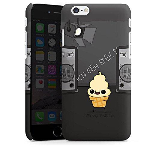 Apple iPhone X Silikon Hülle Case Schutzhülle DirtyWhitePaint Fanartikel Merchandise ICH GEH STEIL Premium Case matt