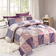 Summer quilt American style 6-pieces King Size 6006-4