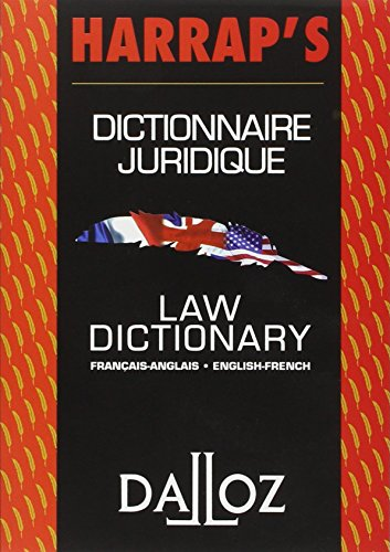Dictionnaire juridique franais-anglais / anglais-franais : Law Dictionary French-English/English-French