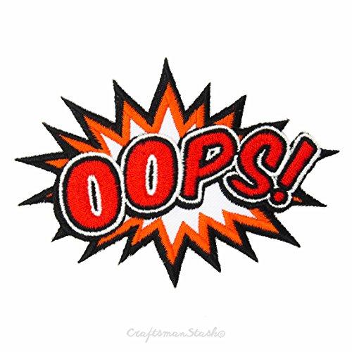 hoppla-oopsy-woopsy-ausruf-wort-in-comic-sprechblase-schnell-bugelleicht-auf-sew-auf-gestickt-patch-