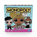 Hasbro Gaming- Monopoly L.O.L. Surprise Gioco in Scatola, Multicolore, E7572103