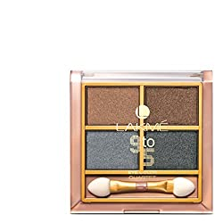 Lakme 9 to 5 Eye Color Quartet Eye Shadow, Smokey Glam, 7 g