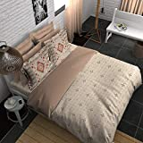 Boutique Living India Minimalist 200TC with 2 Pillow Cover King Size (274 cm x 274 cm) Bedsheet