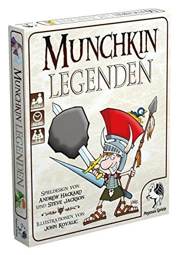 Pegasus Spiele 17236G - Munchkin Legenden (Munchkin-brettspiel)